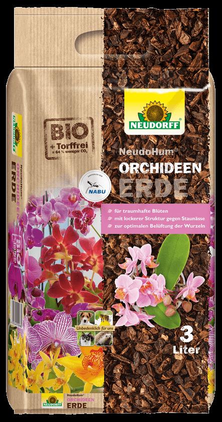 Orchideen Erde - NeudoHum
