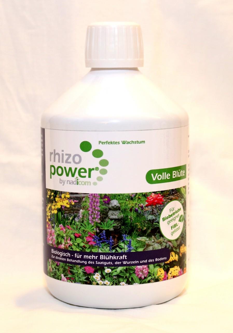 rhizo power® Volle Blüte