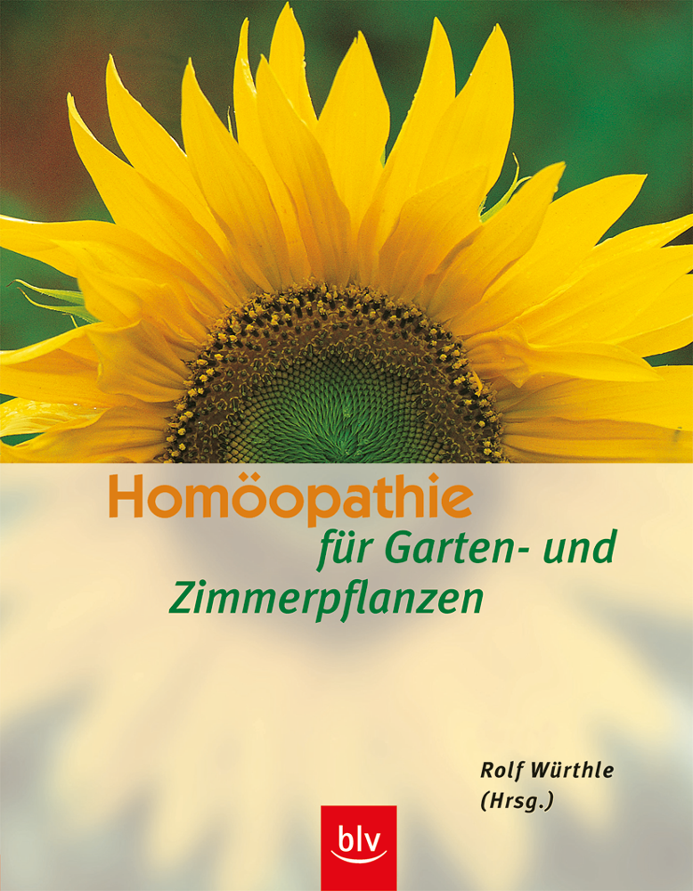 Buch Homöopathie für Garten und Zimmerpflanzen