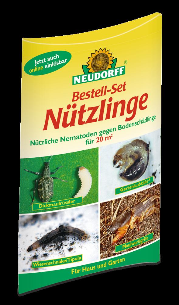Bestell-Set Nützlinge gegen Bodenschädlinge