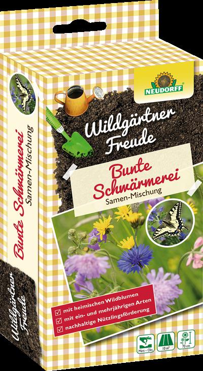 Bunte Schwärmerei - WildgärtnerFreude