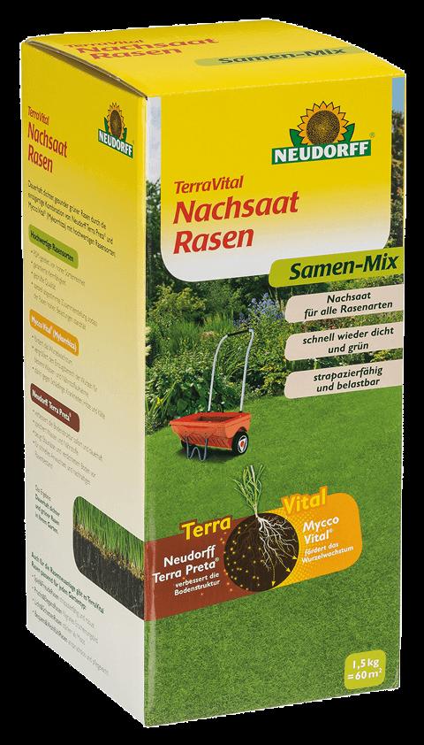 Nachsaat Rasen - TerraVital